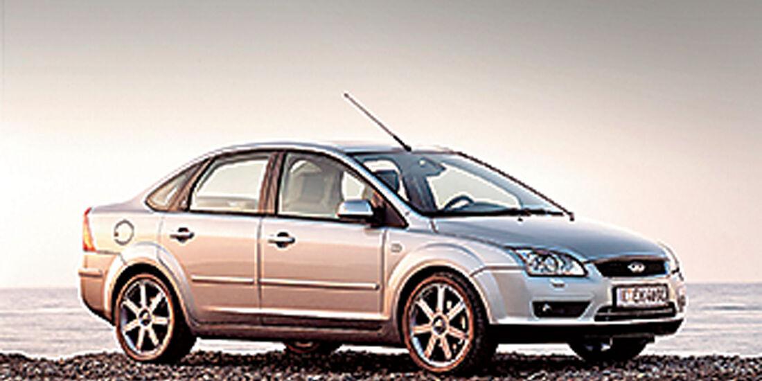 Stufenheck-Limousinen, Ford Focus 1.6 16 V