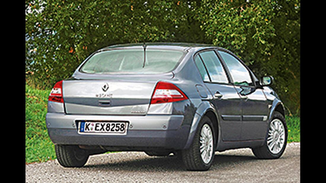 Stufenheck-Limousinen, Renault Mègane 1.6 16 V