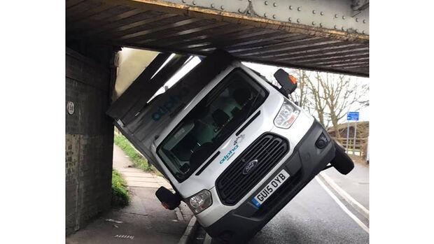 Stuntney Bridge Crash