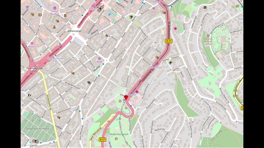 Stuttgart Hohenheimer Straße