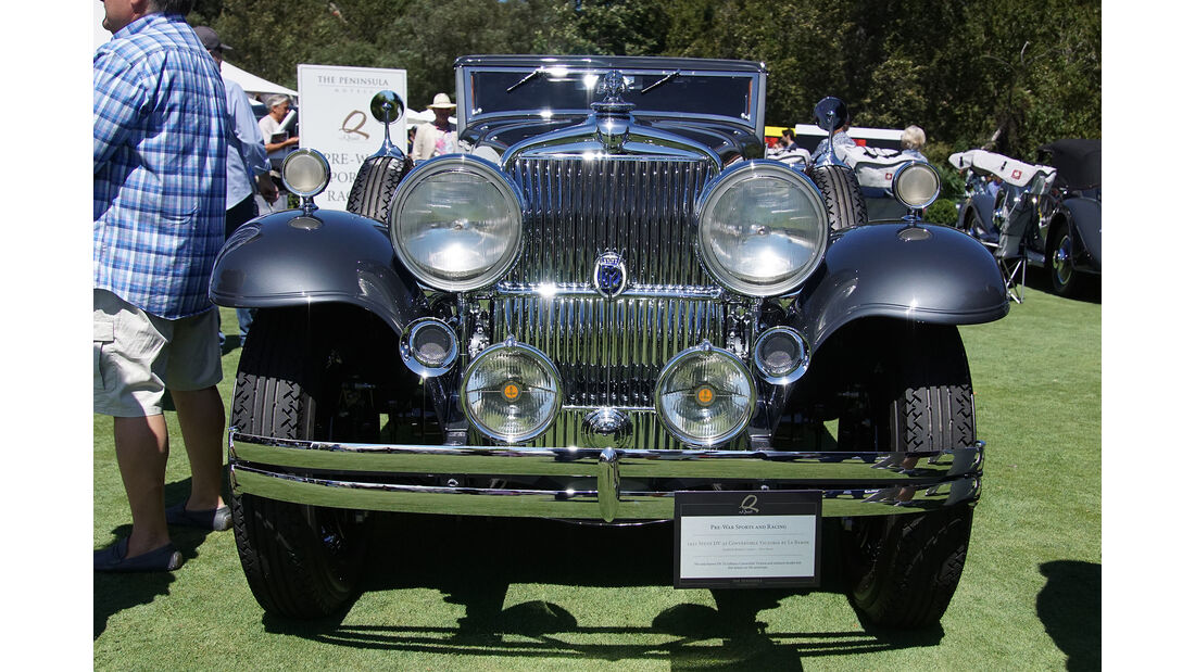 Stutz DV 32 Convertible Victoria by Le Baron 1931