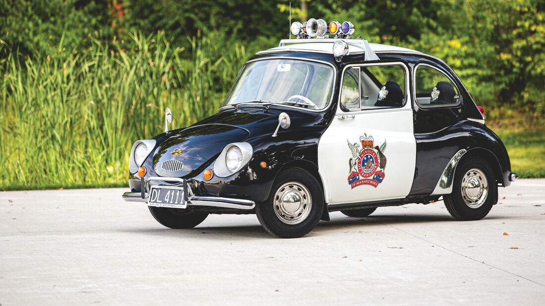 Subaru 360 Police Car Polizei Auktion