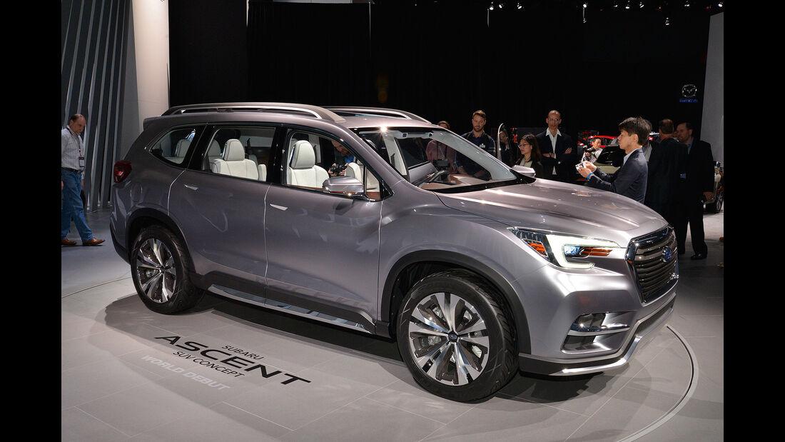Subaru Ascent SUV Concept 2017