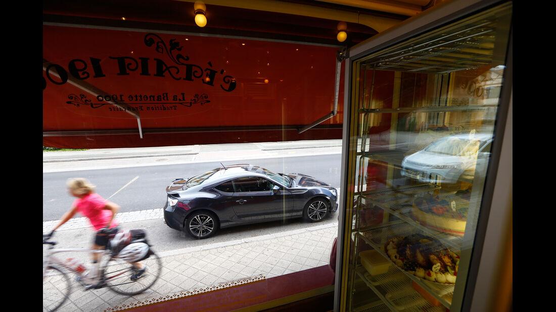 Subaru BRZ, Cafe, Seitenansicht