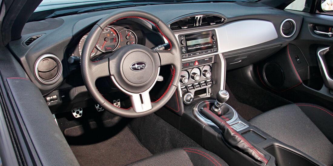Subaru BRZ, Cockpit, Lenkrad
