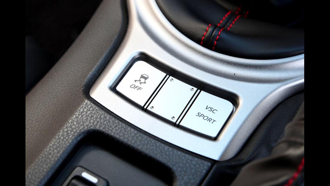 Subaru BRZ, Fahrwerkeinstellung