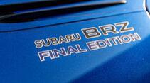 Subaru BRZ Final Edition, Exterieur