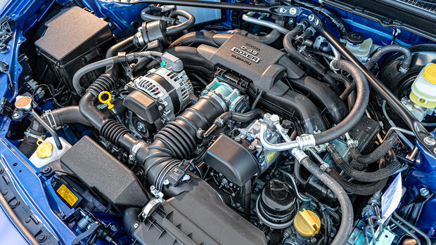 Subaru BRZ Final Edition, Motor