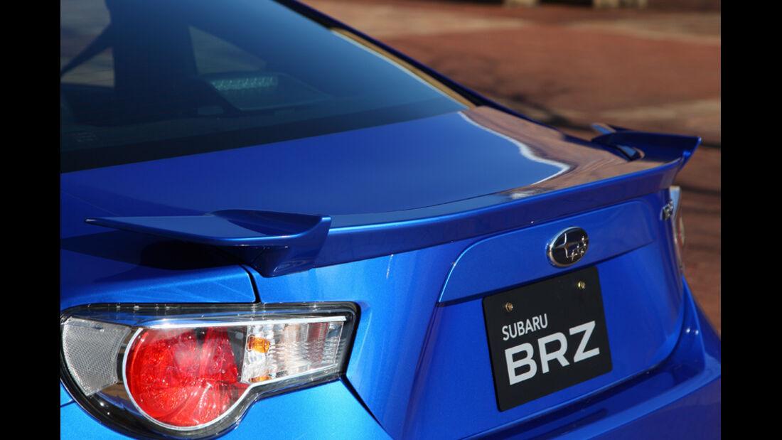 Subaru BRZ, Heckspoiler
