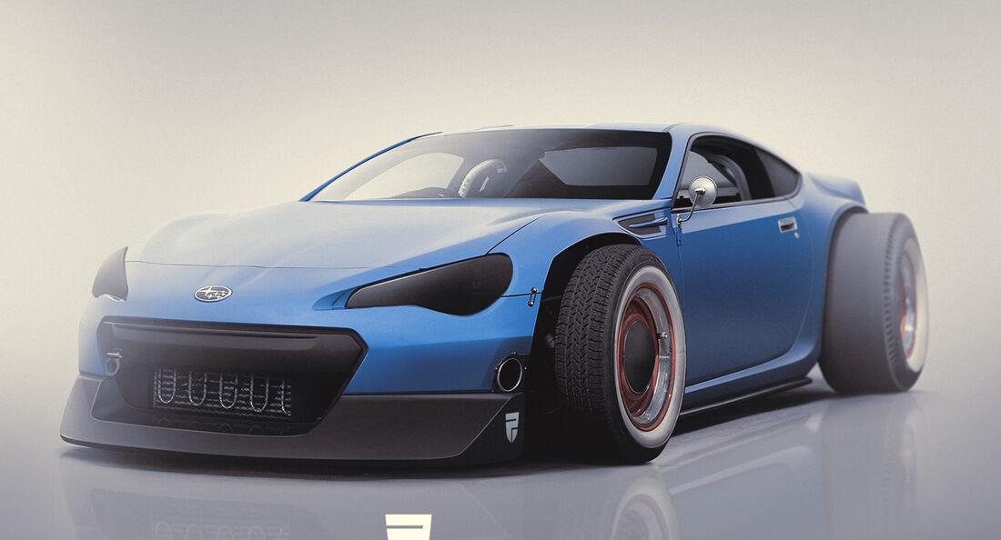 Subaru BRZ Hot Rod - Photoshop - Rain Prisk 2015