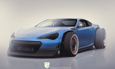 Subaru BRZ Hot Rod - Photoshop - Rain Prisk 2015