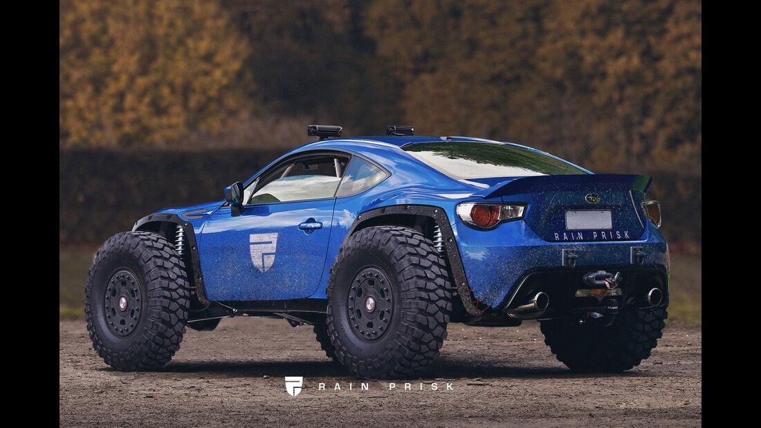 Subaru BRZ - Offroader - Design-Konzept - Grafikkünstler Rain Prisk