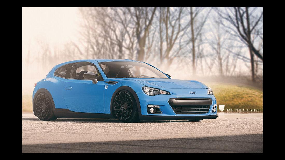 Subaru BRZ - Photoshop - Shooting Brake - Rain Prisk 2015