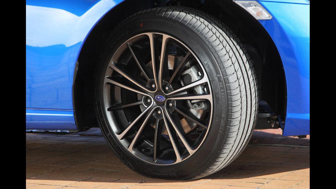 Subaru BRZ, Rad, Felge