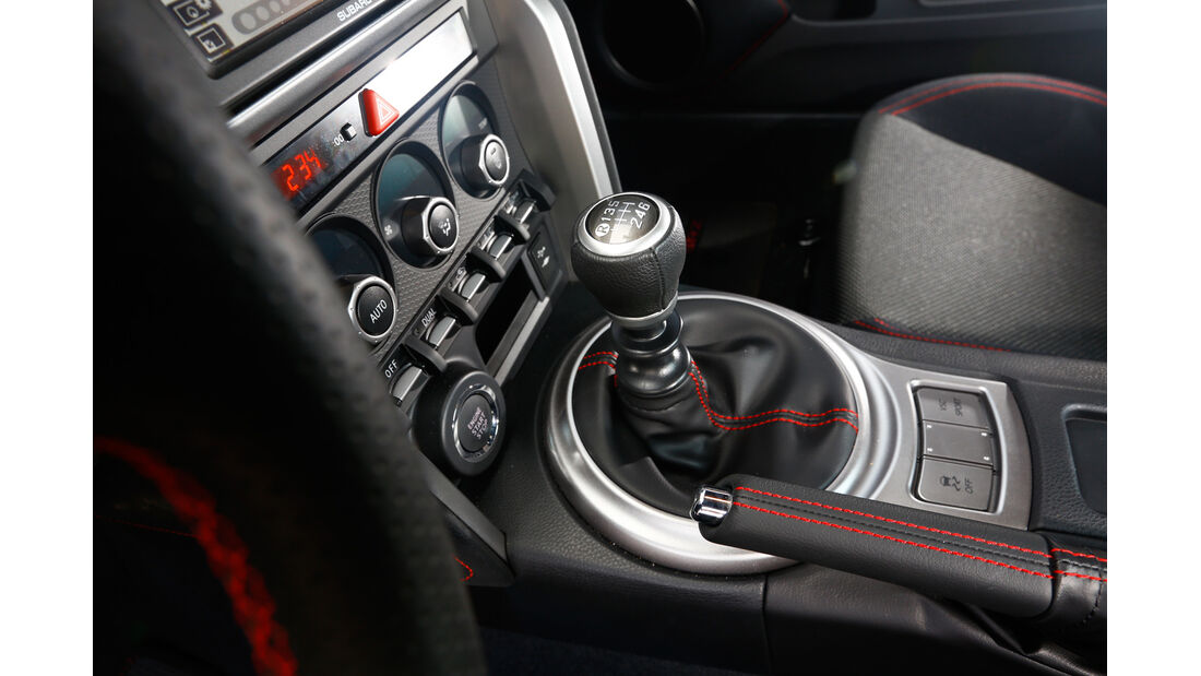 Subaru BRZ, Schalthebel