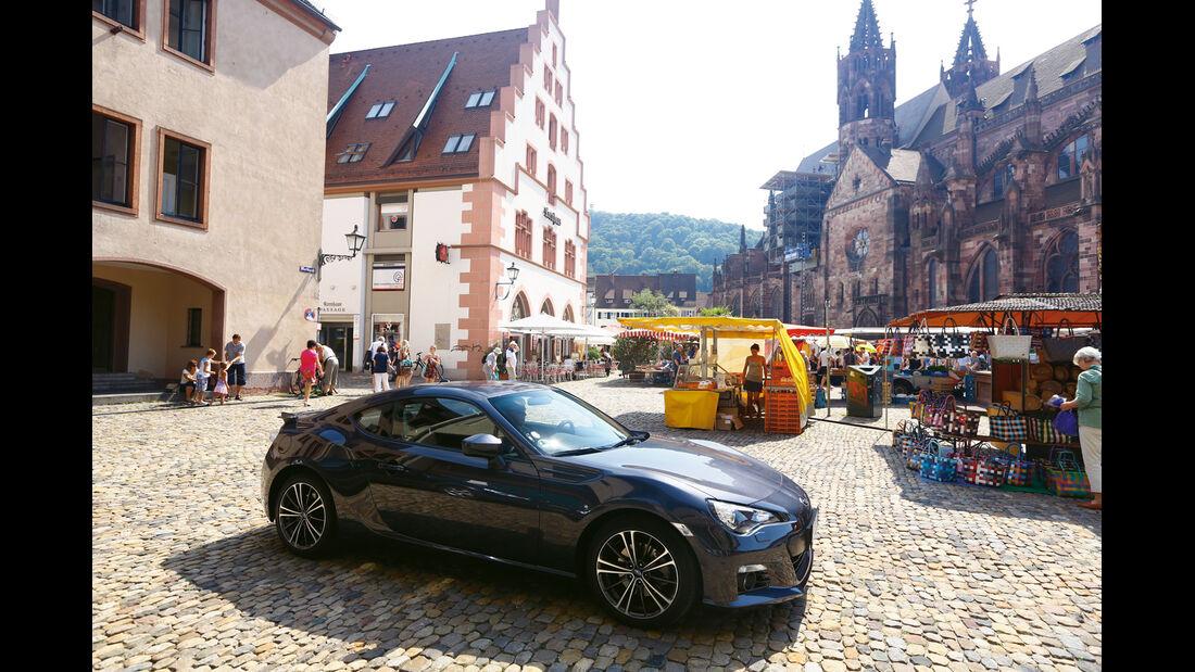 Subaru BRZ, Straßburg, Frankreich