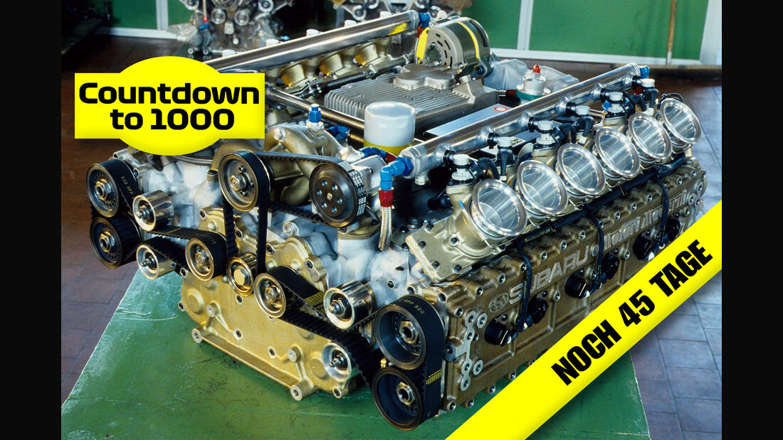 Subaru F1-Motor - Coloni-Box - Formel 1 1990