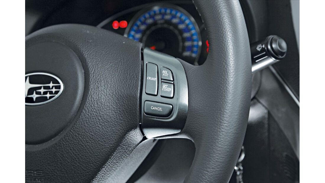 Subaru Forester 2.0 Ecomatic Lenkrad