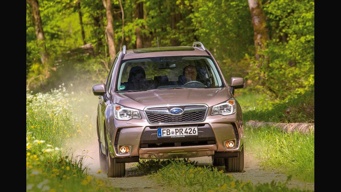 Subaru Forester 2.0 XT Platinum, Frontansicht