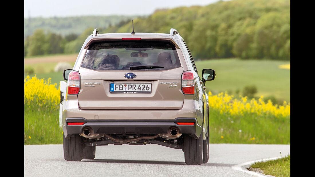 Subaru Forester 2.0 XT Platinum, Heckansicht