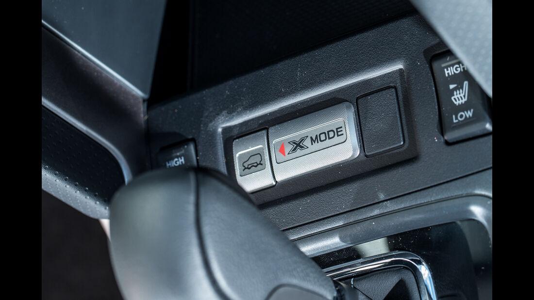 Subaru Forester 2.0D, Bedienelemente