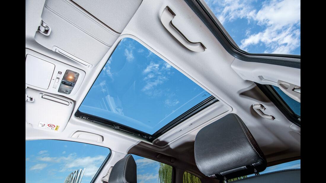 Subaru Forester 2.0D, Glasdach