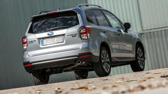 Subaru Forester 2.0D, Heckansicht