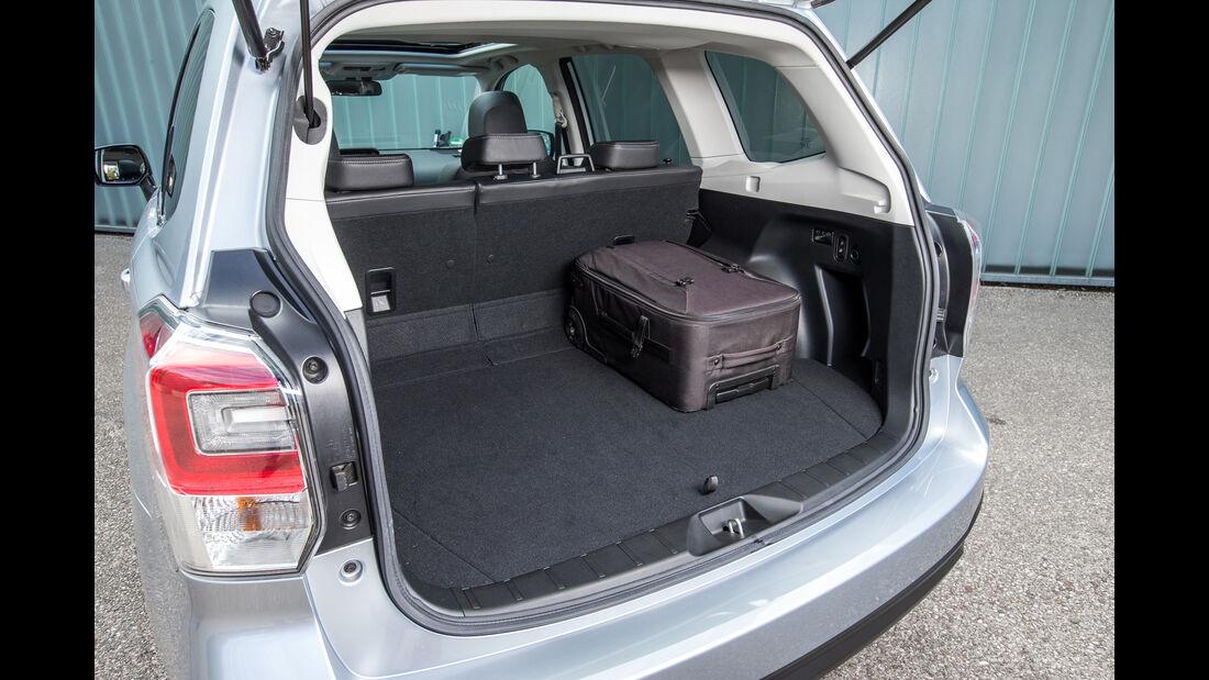 Subaru Forester 2.0D, Kofferraum