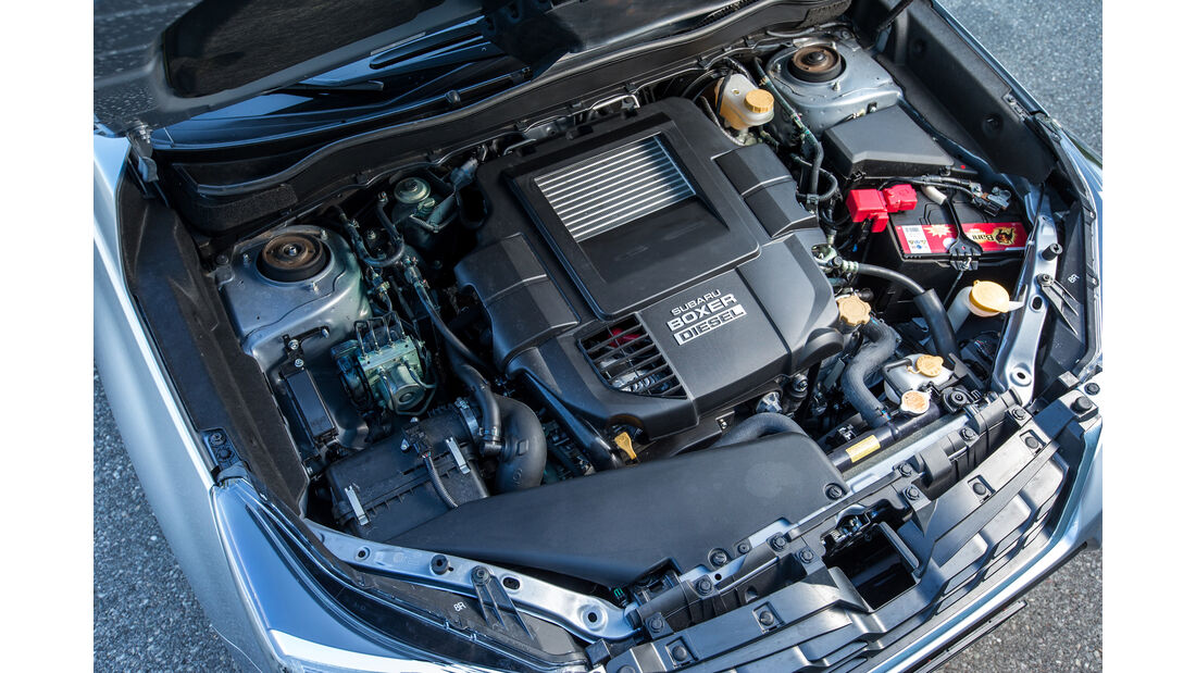 Subaru Forester 2.0D, Motor