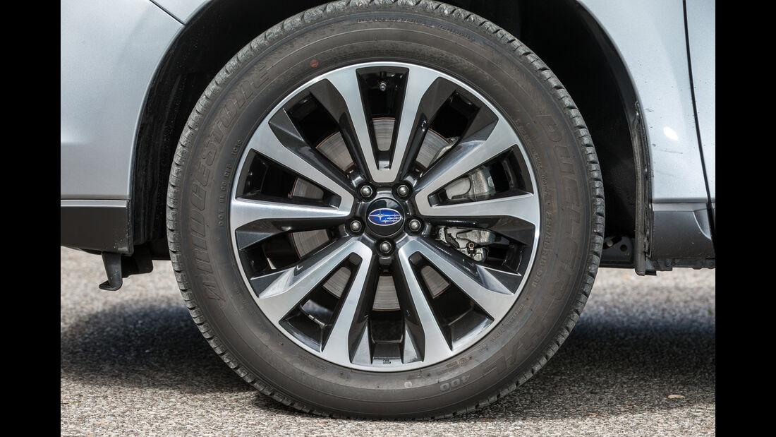 Subaru Forester 2.0D, Rad, Felge