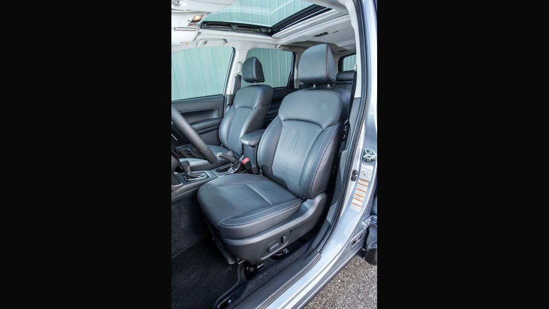 Subaru Forester 2.0D, Sitz