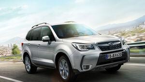 Subaru Forester Modellpflege 2016