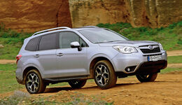 Subaru Forester, Seitenansicht, Gelände