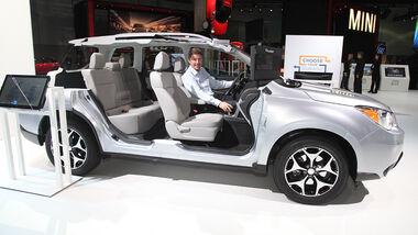 Subaru Forester, Sitzprobe L.A. Autoshow 2012