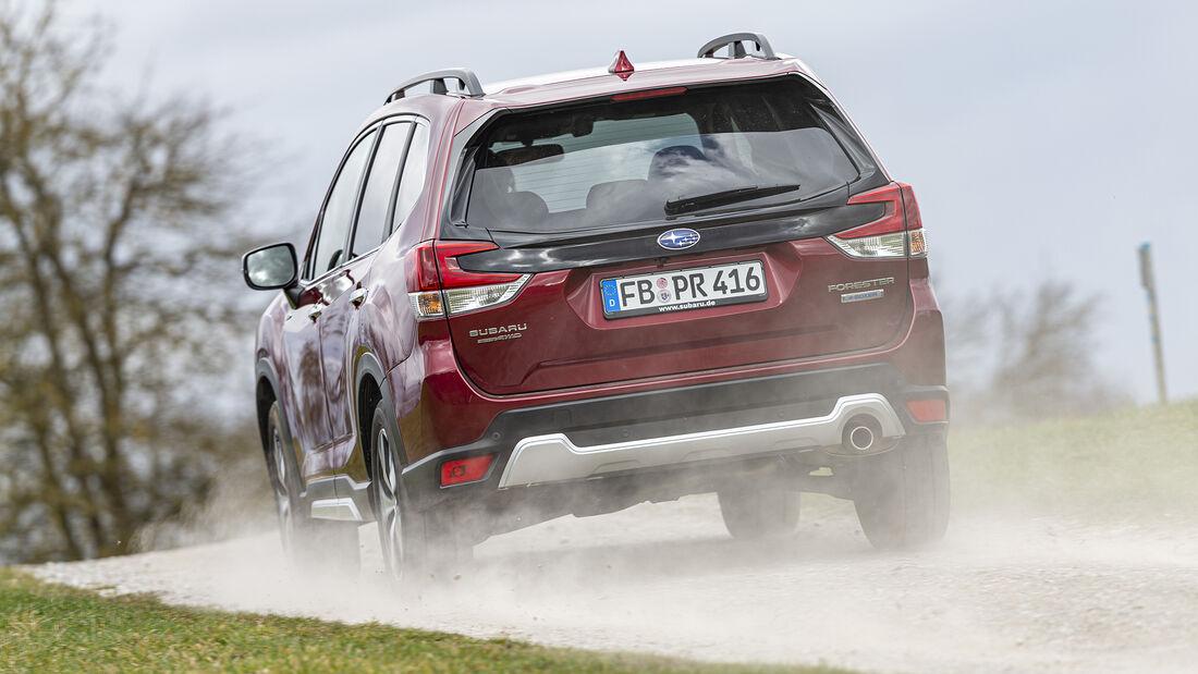 Subaru Forester e-Boxer, Exterieur