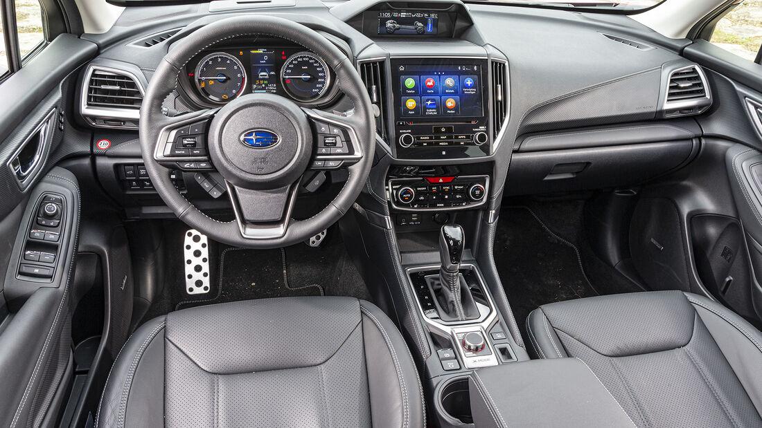 Subaru Forester e-Boxer, Interieur