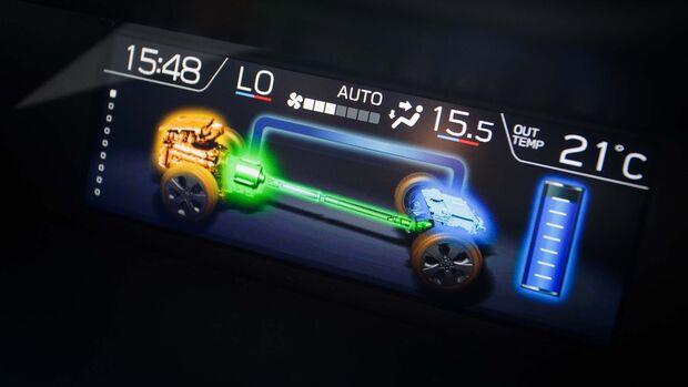 Subaru Forester e-Boxer Modelljahr 2020