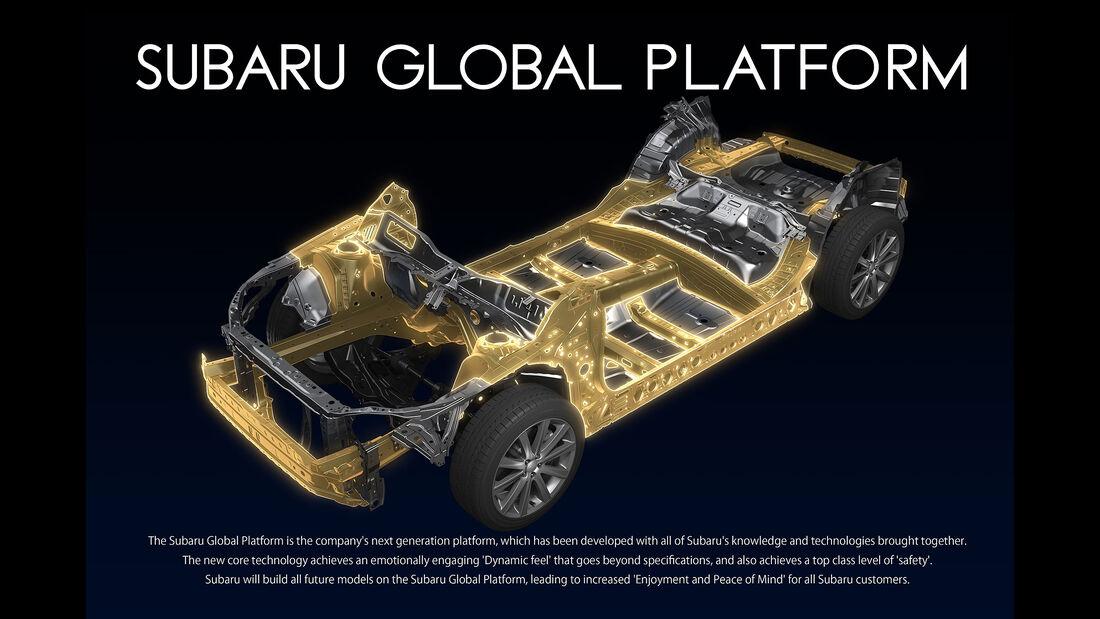 Subaru Global Plattform