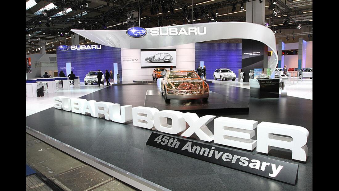 Subaru IAA 2011 Atmosphäre