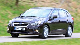 Subaru Impreza 1.6i Comfort, Frontansicht