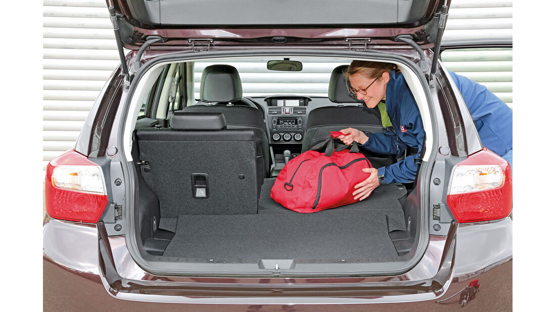 Subaru Impreza 1.6i Comfort, Kofferraum