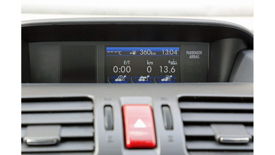 Subaru Impreza 1.6i Comfort, Navi, Display