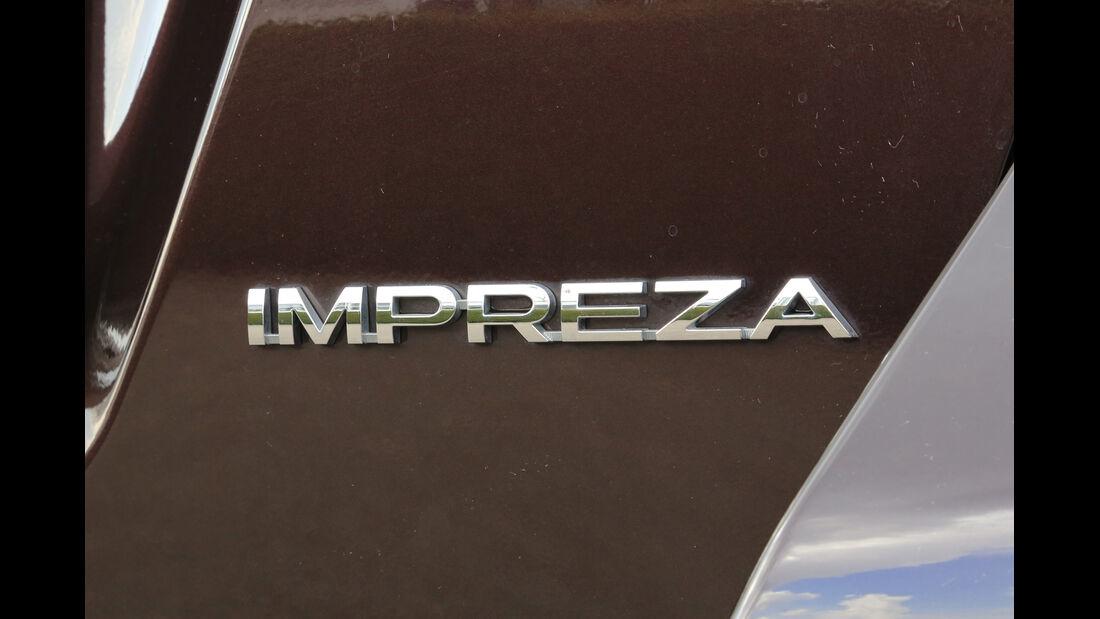 Subaru Impreza 1.6i Comfort, Typenbezeichnung