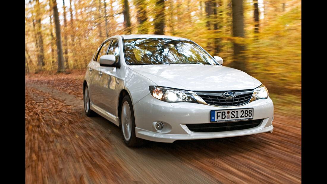 Subaru Impreza 2.0R LPG, Frontansicht