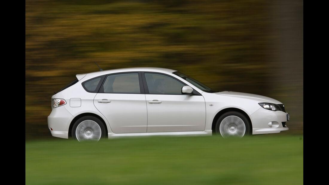 Subaru Impreza 2.0R LPG, Seitenansicht