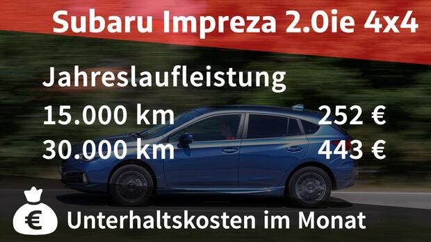 Subaru Impreza 2.0ie 4x4 Platinum