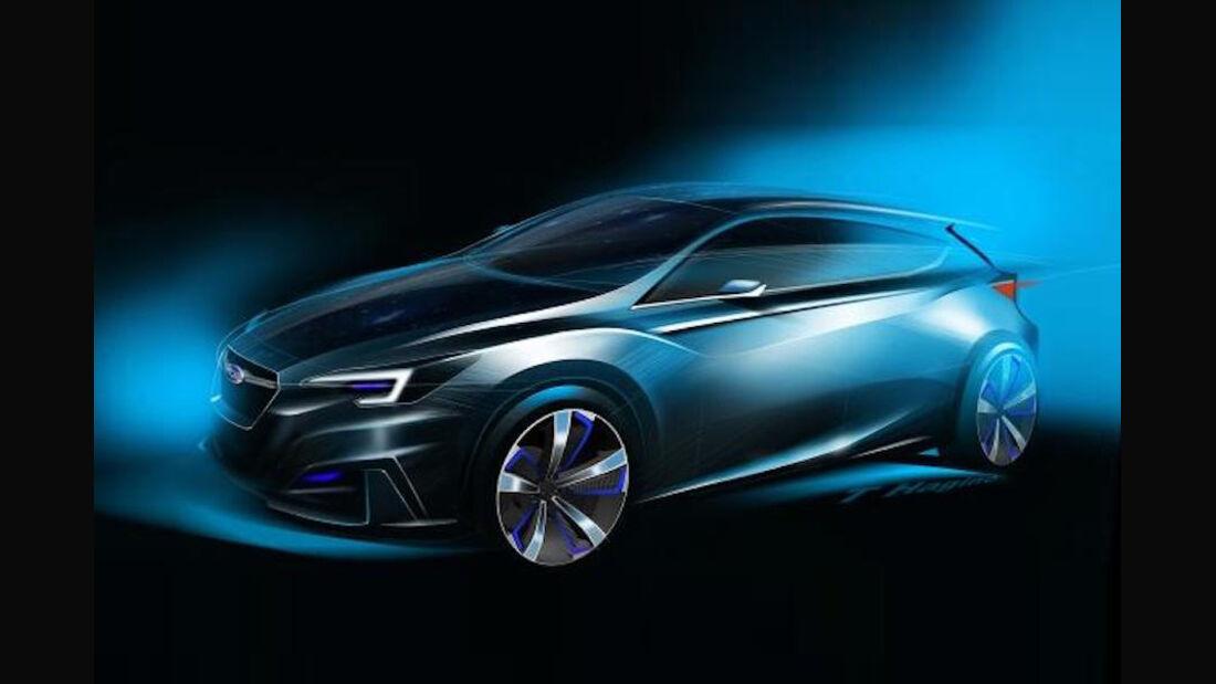 Subaru Impreza 5-Door Concept - Tokio Motor Show 2015