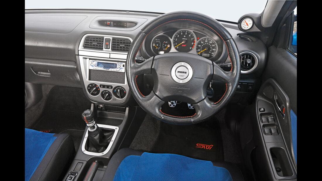 Subaru Impreza, Cockpit