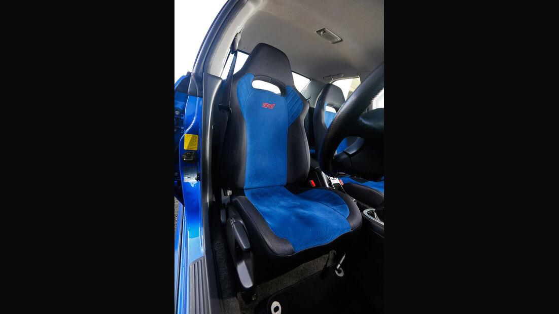 Subaru Impreza, Fahrersitz