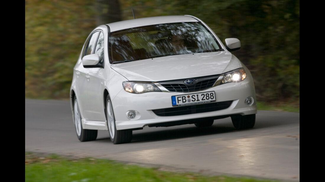 Subaru Impreza, Frontansicht